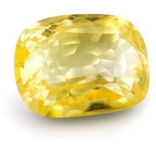 Jaipur Gemstone 7.25 ratti Yellow Sphhire (SUGGESTED) Yellow
