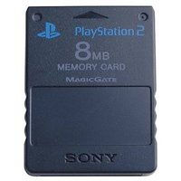 8 Mb Memory Card For Playstation  Ps2 - 2276274