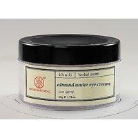 KHADI almond under eye cream-50 GMS