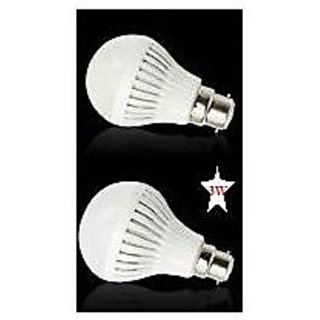 3W Led Bulb, 230VAC set of 2 bulb