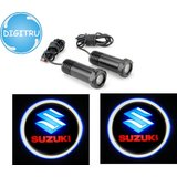 Digitru-Car Door Ghost Shadow Light Logo New Dizire(Set Of 2pc)