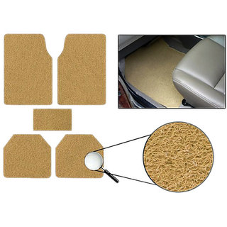 Takecare Beige Anti Slip Noodle Car Floor Mat For Tata Vista