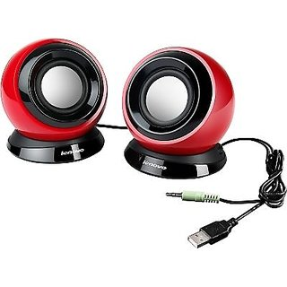 Lenovo USB Speakers M0520 Red
