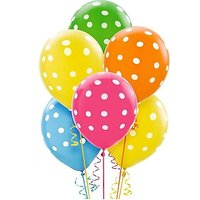 Homeshopeez Printed Balloon(Multicolor, Pack of 30)