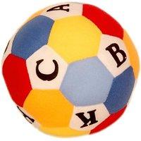 Homeshopeez Soft Toy ABC Ball - 15 cm(Multicolour)