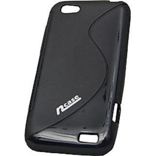 nCase PFBC-8533BK Back Cover for HTC One V(Black)