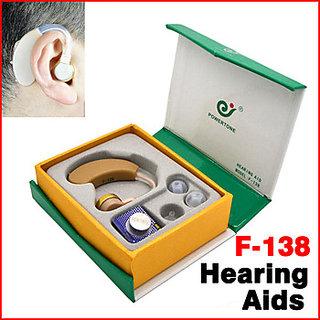 Axon F-138 Tone Hearing Aids Aid Behind Ear Sound Amplifier