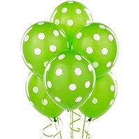 Homeshopeez Printed Balloon(Green, Pack of 30)
