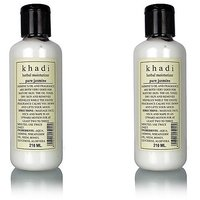 Khadi Herbal Pure Jasmine Mosturising Lotion -PACK OF 2