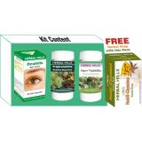 Complete Ayurvedic Eye Care Kit Oc513 Herbal Soap Free