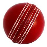 DAVIDSON REAL LEATHER 4 PIECE CRICKET BALLS -3 BALLS