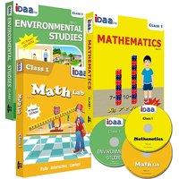 Class 1-Mathematics, EVS  Maths Activity Combo CDs-IDaa