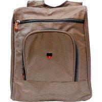 "Donex 15"" Nylon Brown Colour Backpack"