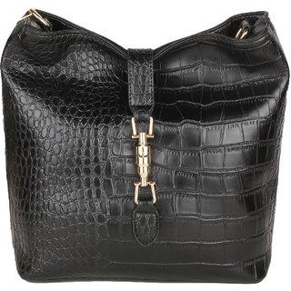 Lino Perros Black Coloured Hand Bag. LWHB01837BLACK