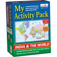 My Activity Pack- India & The World
