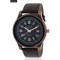 DCH WT 1206 Copper Brown Color Analog Watch For Men With 1 year Warranty(WT 1206