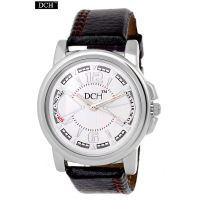 DCH Decent Designer Analog Watch For Men With 1 Year Warranty(Plain Round Case M