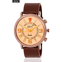DCH Rose Gold Color Exclusive Analog Watch For Men With 1 year Warranty(Rose Gol