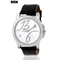 DCH Decent Designer Analog Watch For Men With 1 Year Warranty(Plain Round Case W