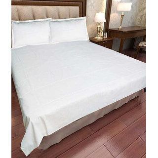 Akash Ganga new arrival cotton Plain Bedsheets
