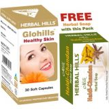 Herbal Skin Care Capsules Gl407 Herbal Soap Free