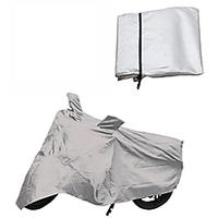Bull Rider Hero Honda Karizma Bike Body Cover-SILVER COLOR.