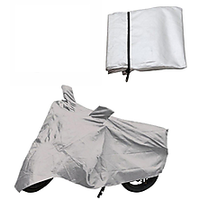 Hero Passion Pro Bike Body Cover Silver Color