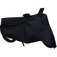 Bull Rider Bajaj Discover 125 DTS-i Two Wheeler Cover (Black)