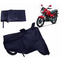 Bull Rider  Bike Body Cover For HERO GLAMOUR - Blue