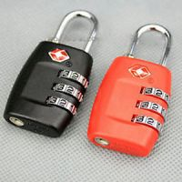 Travel Sentry 3 Digit TSA007-Combination LuggageSecurity-Padlock DIY Crafts Item