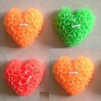 Diwali Decoration Frangance Designer Candles Heart Shapes