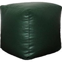 Fat Finger Fabric Xl Bean Bag Cover - (Bottle Green, 16 Inch X 16 Inch)