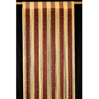 Akash Ganga String Long Door Curtain(Set of 2)