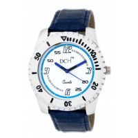 DCH WT 1239 Blue N White Mist Collection Analog Watch For Men With 12 Months War