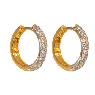 Fancy Party Wear Hoop Earring For Women (VE5690)