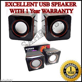 Dynamic-USB-6-WATTS-Multimedia-Laptop-Desktop-Notebook-2.0-Stereo-Speaker