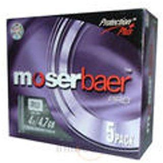 Moser Baer 4x DVD-R 5 PK JC