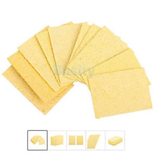 Solder Iron Station-Cleaning Pad 10 Pcs-Replacement Sponges DIY Crafts