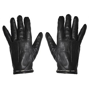 Fitness Rehans Driving Gloves black in color Cold Water Wash Without Soap