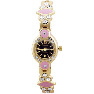 Telesonic Analog Watch For Ladies-LCGBKP-08