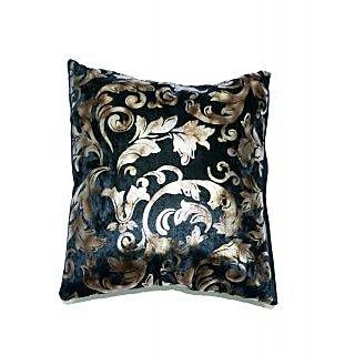 Koncepts Silver Flower Design Cushion Cover (40X40Cms)40A