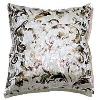 Koncepts Silver Flower Design Cushion Cover (40X40Cms)40B