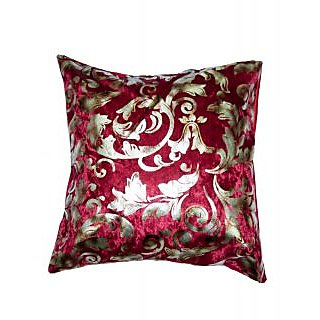 Koncepts Silver Flower Design Cushion Cover (40X40Cms)40C