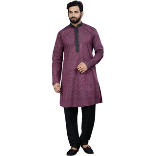 Manish Creations Only Kurta 08168-ML-S15-E61-LT.PURPLE