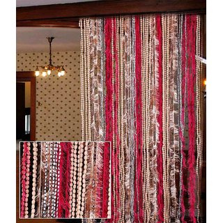 AmarOverseas Fugga Door Curtain(Set of 2)
