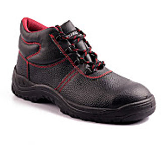Wild Bull Leather Safety Shoe with Steel Toecap 200 J available at ShopClues for Rs.969