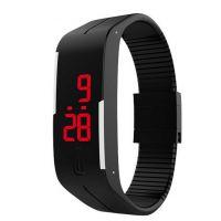 MAGNET BLACK Led Sport Digital Watch - For Boys, Men, Girls