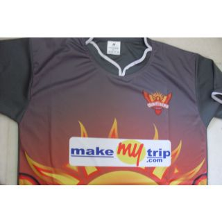 IPL Jersey Cricket T20 India jersey t shirt SUNRISERS HYDERABAD