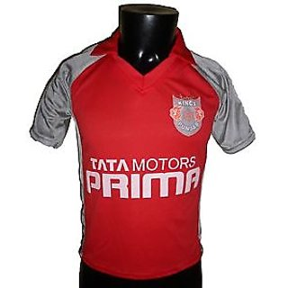 IPL Jersey Cricket T20 India Jersey T Shirt KINGS XI PUNJAB
