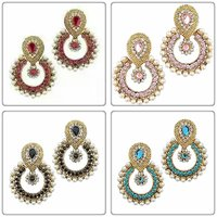 Combo Offer of pearl polki earrings